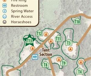 Tent Site T13