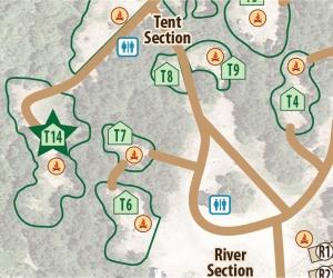 Tent Site T14