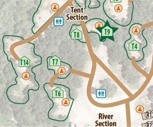Tent Site T9